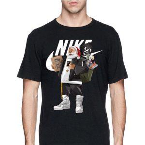 Santa Claus Nike Supreme Sneaker shirt