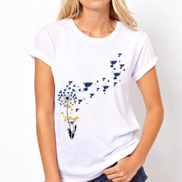St. Louis Blues Flower shirt