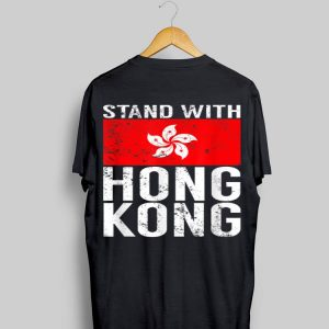 Stand With Hong Kong Flag shirt