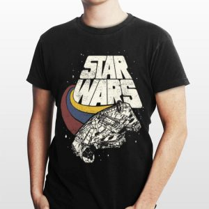 Star Wars Falcon Ship Three Stripes shirt