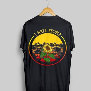 Sunflower I Hate People Vintage shirt