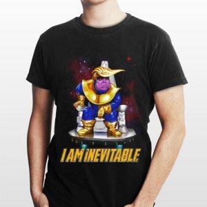 Thanos Trump I Am Inevitable Marvel Avengers Endgame shirt