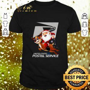 Top Santa United States Postal Service shirt