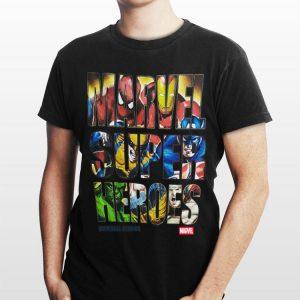 Universal Studios Marvel Super Heroes shirt