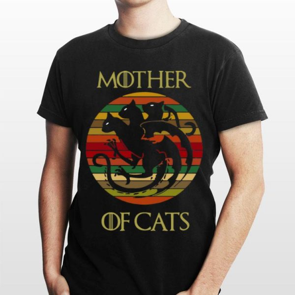 Vintage Mother Of Cats Game Of Thrones shirt