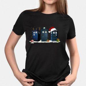 Doctor Who Tardis Police Box Christmas shirt