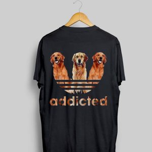 Adidas Golden Retriever Addicted shirt