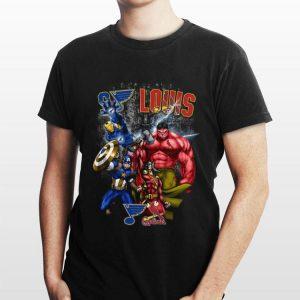 Avengers St Louis Cardinals shirt