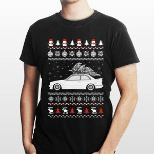 BMW E30 Coupe ugly Christmas shirt