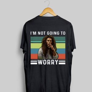 Bob Marley I'm not going to worry vintage shirt
