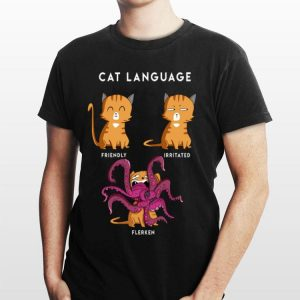 Cat Language Friendly Irritated Flerken Marvel Avengers shirt