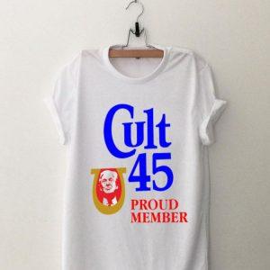 Donald Trump Cult 45 Proud Member sweater