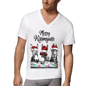 Donkeys Merry Kissmyass shirt