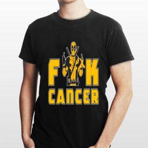 Fuck Cancer Deadpool Appendix shirt