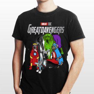 Great Dane Greatdavengers Marvel Avengers Endgame shirt