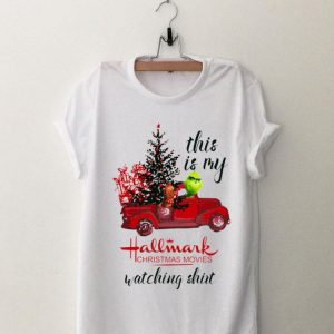 Grinch and Max this is my hallmark christmas movie watching shirt