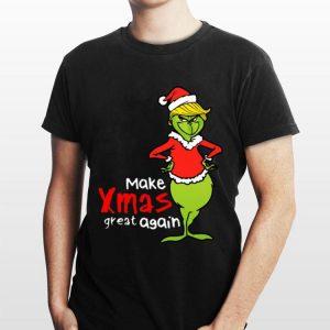 Grinch make xmas again Donald Trump shirt