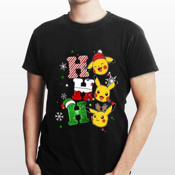 Ho ho ho Santa Pikachu christmas shirt