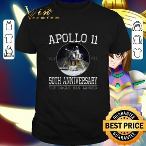 Hot Apollo 11 Lunar Module 50th Anniversary The Eagle Has Landed shirt