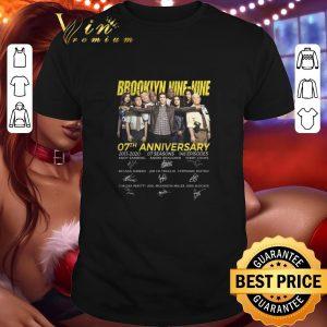Hot Brookiyn 99 Nine-Nine 07th anniversary 2013-2020 signatures shirt