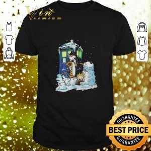 Hot Doctor Who Calvin and Hobbes shirt