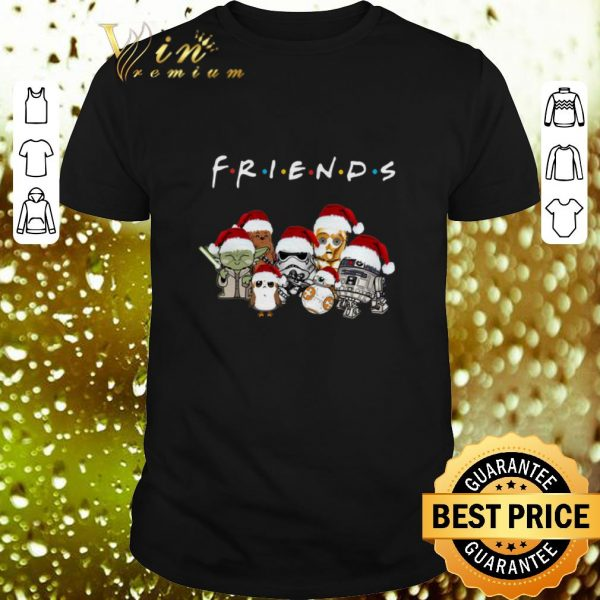 Hot Friends Star War chibi characters shirt