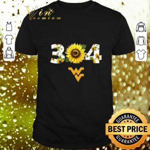 Hot Sunflower 304 West Virginia Mountaineers shirt