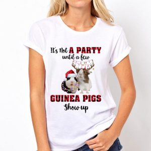 It's Not A Party Until A New Guinea Pigs Show Up Christmas sweater