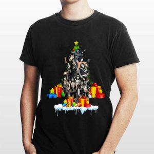 Kiss Band Christmas Tree shirt