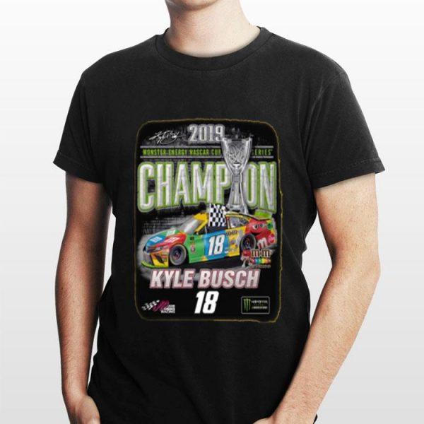 Kyle Busch 2019 Monster Energy NASCAR Cup Series Champion shirt