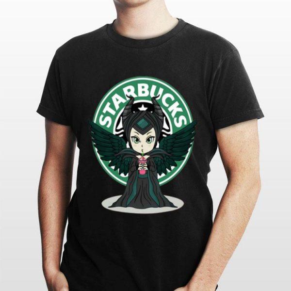 Maleficent Starbucks Logo shirt