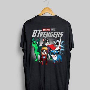 Marvel Avengers Endgame Boston Terrier BTvengers shirt