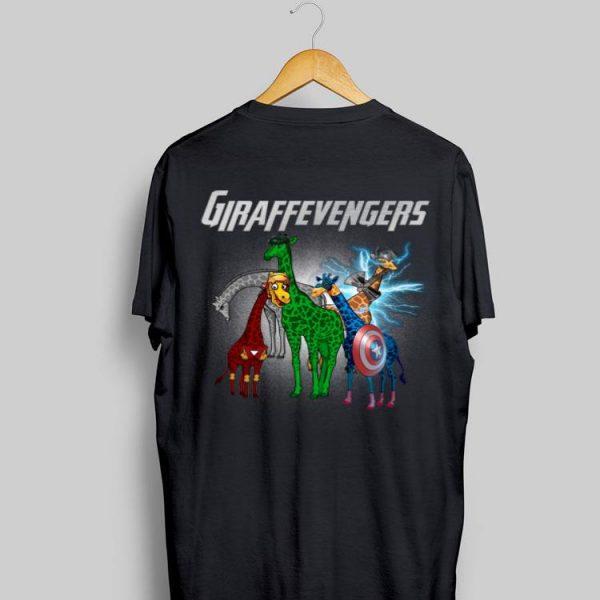 Marvel Avengers Endgame Giraffevengers Giraffe shirt