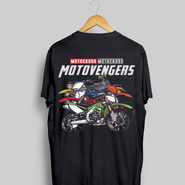 Marvel Avengers Endgame Motocross Motovengers shirt