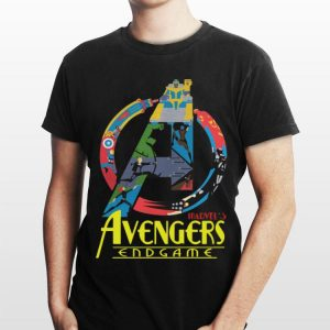 Marvel Avengers Endgame logo full colors shirt