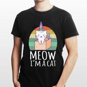 Meow I'm a Cat vintage shirt