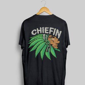 Native smoking weeb chiefin shirt