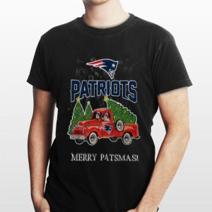 New England Patriots truck merry patsmas Christmas shirt