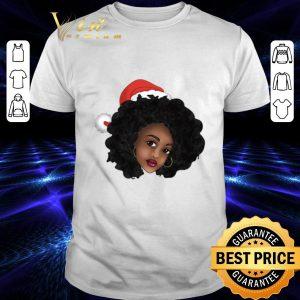 Original Afro Natural Black Women Christmas shirt