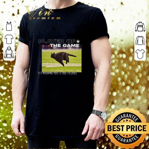 Original Cat player of the game 117 rushing yds 2 tds 9 lives shirt 3