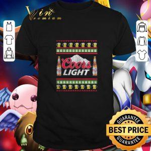 Original Coors Light beer Ugly Christmas shirt