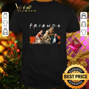 Original Friends Star Wars characters shirt