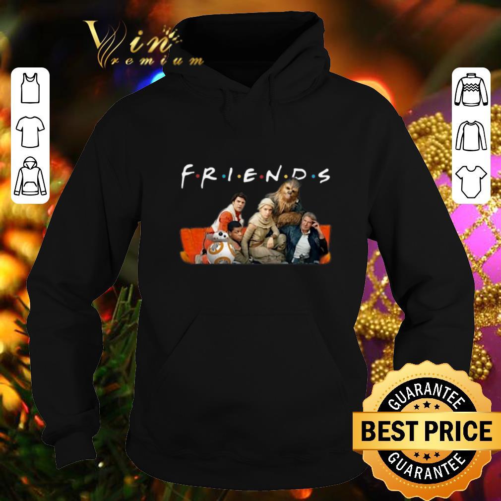 Original Friends Star Wars characters shirt