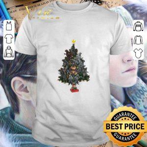 Original Godzilla Christmas Tree shirt