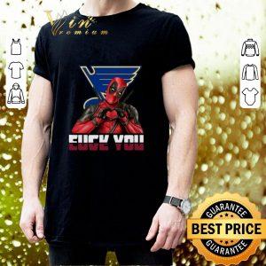 Original St. Louis Blues Fuck You Love You Deadpool shirt 2
