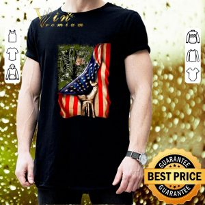 Original Veteran your name American flag shirt 2