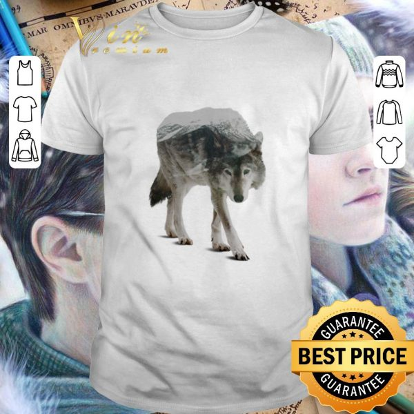 Original Wolf double seeing shirt
