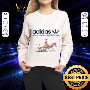 Original adidas all day i dream about Reining shirt