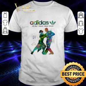 Original adidas all day i dream about Salsa shirt