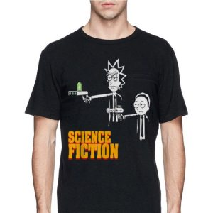 Science Fiction Rick and Morty shirt